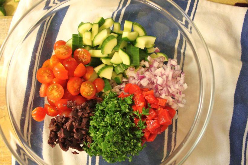 mediterranean cauliflower couscous