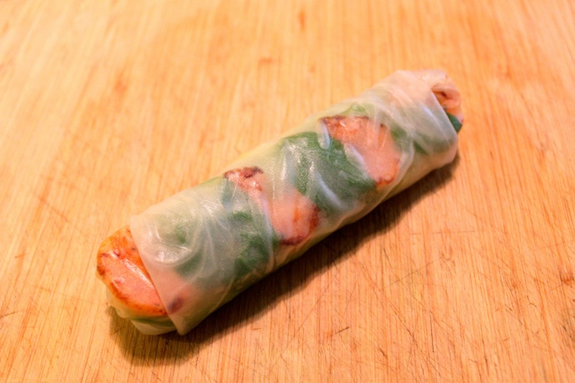 fresh spring rolls | two coast kitchen