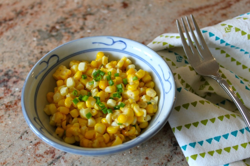 corn with miso butter