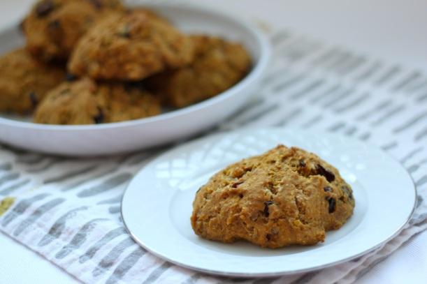 pumpkin cranberry scones | two coast kitchen