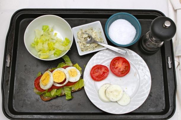 egg, lettuce & tomato sandwich | two coast kitchen